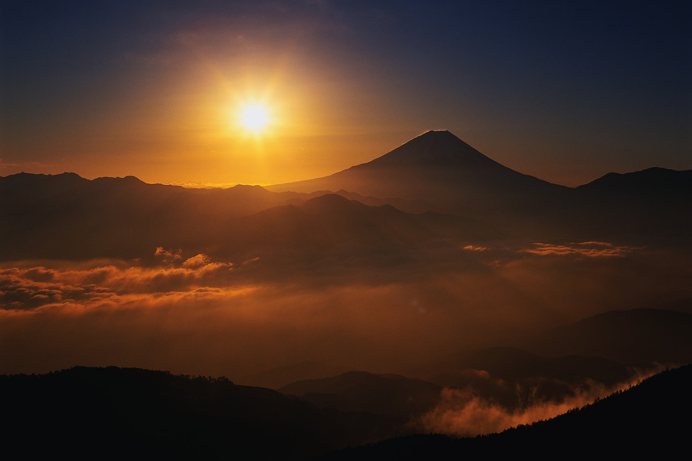 Mountain Sunrise for Pinterest